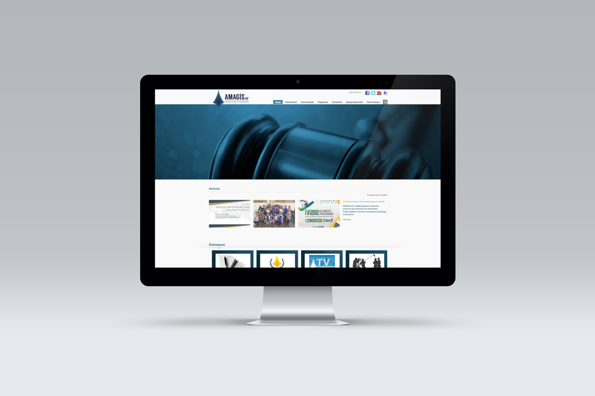 Desenvolvimento de Website – Amagis-DF