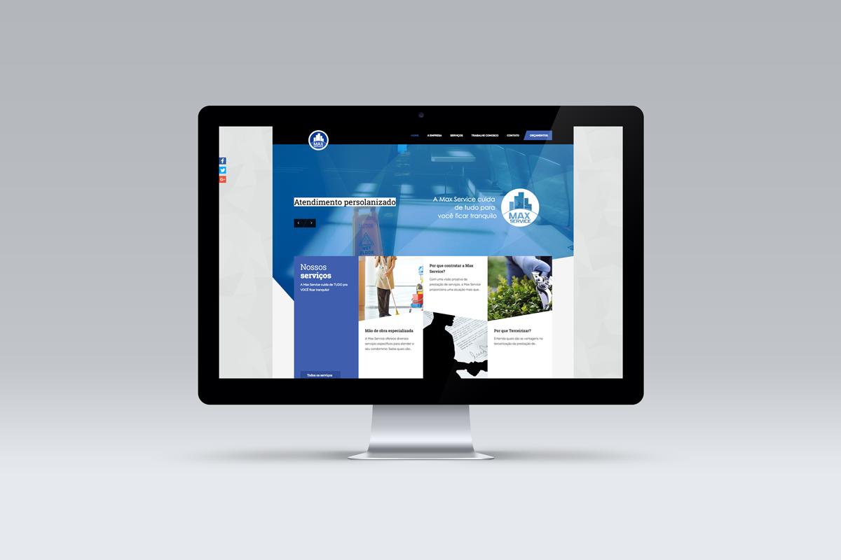 Desenvolvimento de website – Max Service