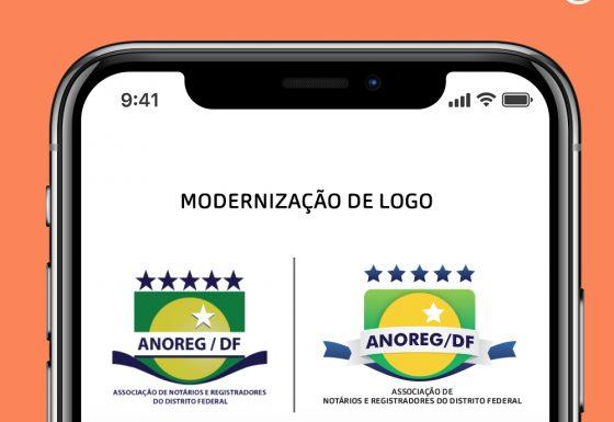 Modernização da logomarca – Anoreg-DF