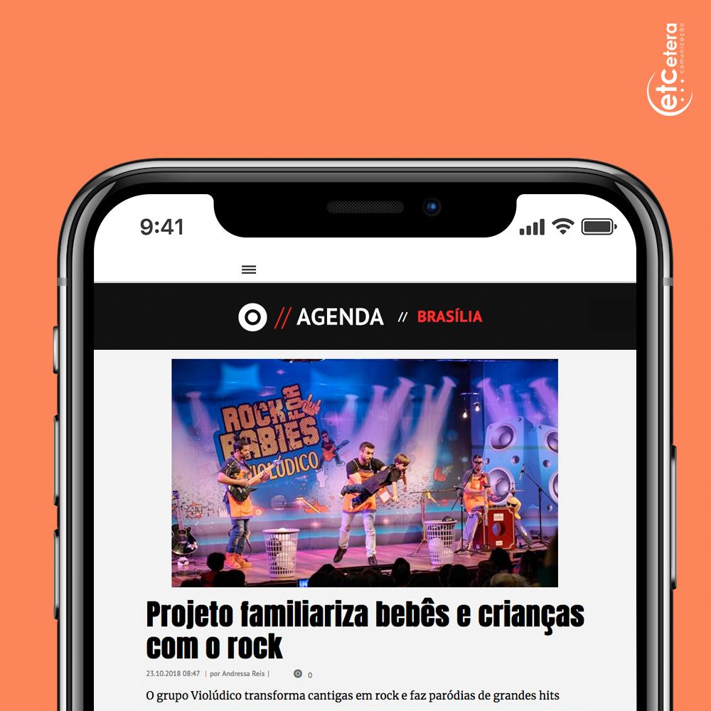 Assessoria de Imprensa – Espetáculo Rock for Babies