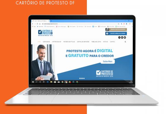 Desenvolvimento de website – Cartório de Protesto DF