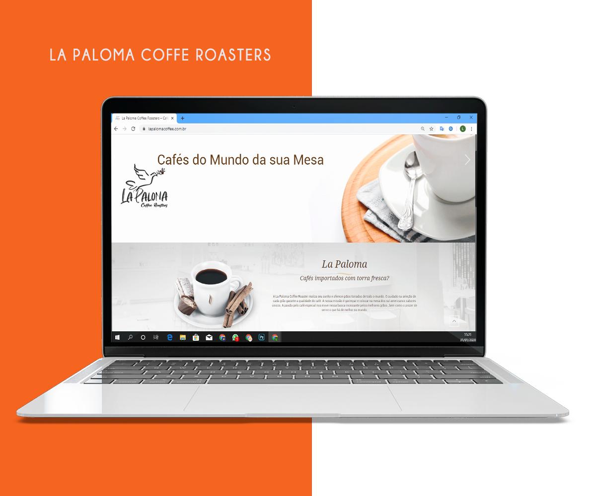 Desenvolvimento de Web Site – La Paloma Coffee
