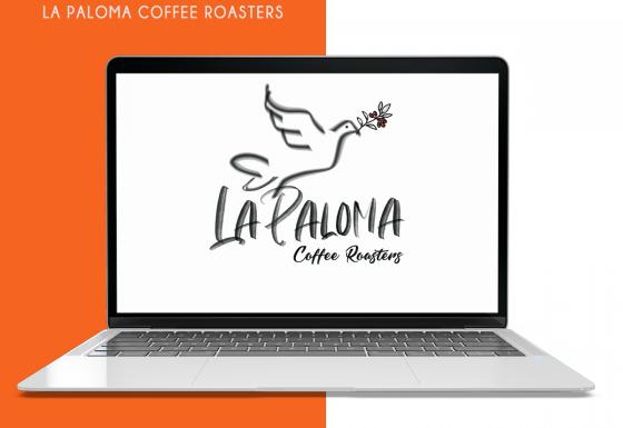 Logomarca – La Paloma Coffee Rousters