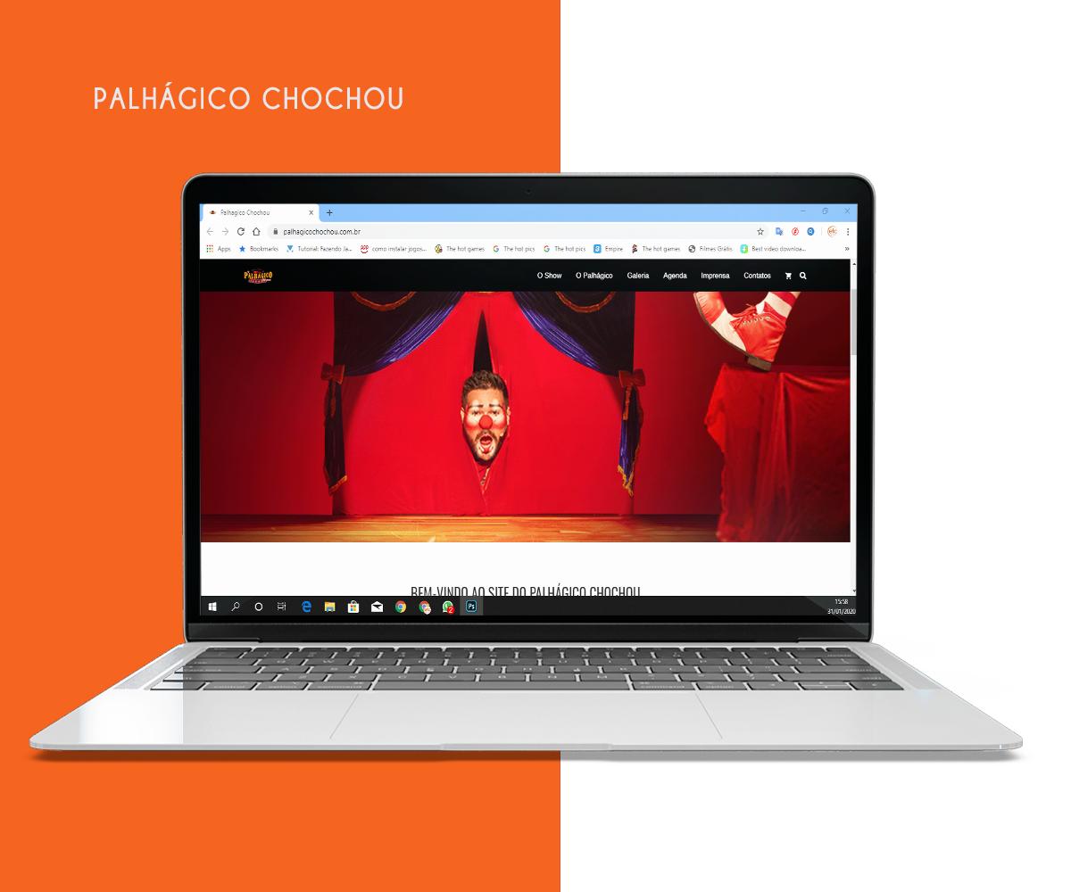 Desenvolvimento de Web Site – Palhagico Chochou